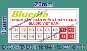 In tem bảo hành giảm giá tới 18 % chỉ còn 60đ/cái tem ở tại Phường Phú Hòa, Thành phố Thủ Dầu Một, Tỉnh BìnhDương